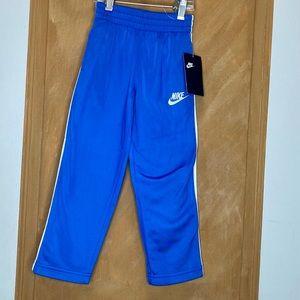 Nike Blue & White Track Pants Size 4T